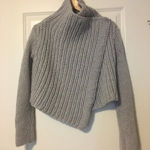 Helmut Lang chunky knit sweater